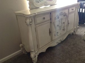Acme Versailles Dresser in Antique White for Sale in Modesto, CA