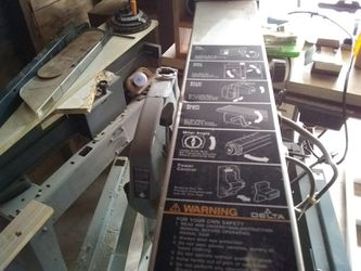 "Radial arm saw delta Craftsman 10"" for Sale in Wichita,  KS"