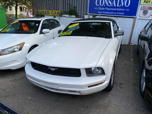 2007 Ford Mustang convertible/ Red interior for Sale in Boston, MA