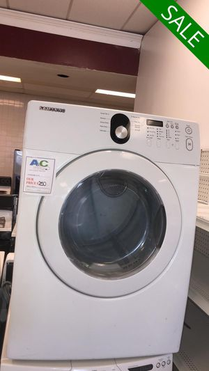 NO CREDIT!! Samsung High Efficiency Electric Dryer CONTACT TODAY! #1510 for Sale in Fort Washington, MD