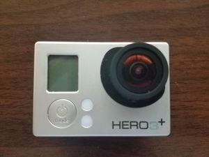 Go Pro Silver Hero 3+ with Accessories for Sale in Herndon, VA