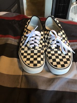 Low checker vans for Sale in Silver Spring, MD