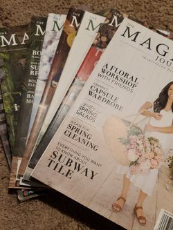 Magnolia Journal's **Great Condition!!! All 1 Bundle, Not Sold Individually for Sale in Aurora,  OR