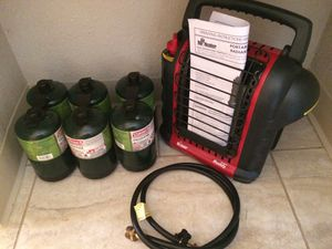 Mr Heater Buddy Indoor Safe Propane Heater for Sale in Vancouver, WA