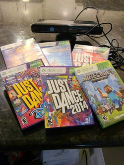 Kinect Xbox 360 With Games for Sale in Poway,  CA