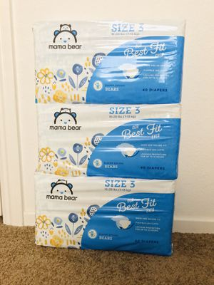Mama Bear size 3 diapers for Sale in El Cajon, CA