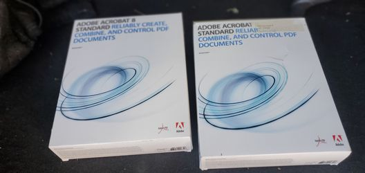 Adobe acrobat 8 standard for Sale in Westminster,  CO