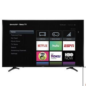 SHARP 55 Inch 4K UHD ROKU TV for Sale in Laurel, MD