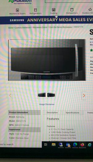 Samsung Microwave SMH2117S for Sale in Clovis, CA