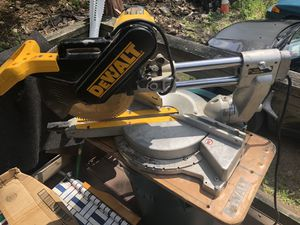 DeWalt miter saw 12 inch power cord for Sale in Melrose, MA