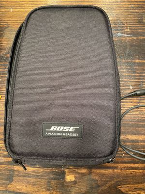 BOSE aviation A20 Bluetooth headset for Sale in Houston, TX