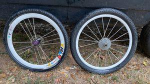 29 inch mountain bike rims and tires nice upgrade for Sale in Atlanta, GA