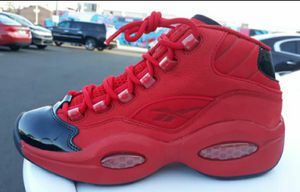 Brand new and original kids Reebok Question Iverson's sneakers size 2y for Sale in Philadelphia, PA