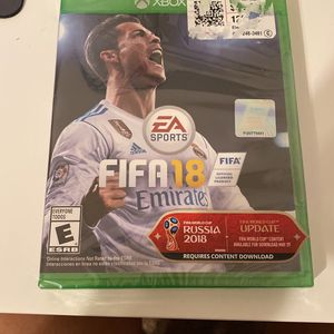Xbox FIFA 18 for Sale in Garland, TX