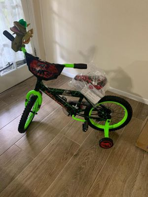 Brand new Jurassic world boys bike right out of the box for Sale in Brooksville, FL