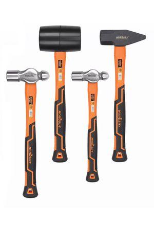 Outdoor/Health/Safety-HORUSDY 4-Piece Hammer Set/Comfortable non-slip handles for Sale in Los Angeles, CA