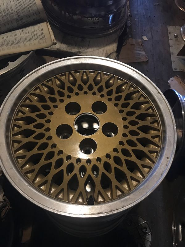 "Jeep wheel gold factory web 15"""