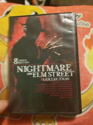 Nightmare on elm street 8 movie collection for Sale in Maryville, TN