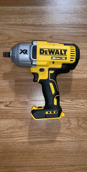 Brand new dewalt 1/2 xr torque wrench (tool only) for Sale in Tacoma, WA