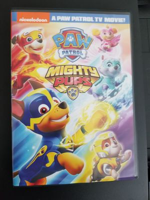 Paw Patrol Mighty Pups DVD for Sale in Duncan, SC