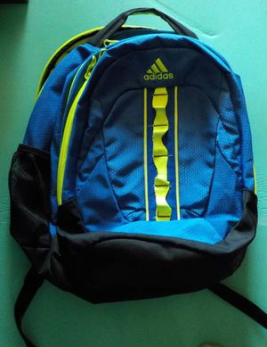 Adidas Royal Blue & Lime Green Backpack (Adult Sized) for Sale in Las Vegas, NV