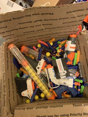 Nerf Guns and darts for Sale in Hampton, VA
