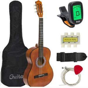 "38"" Beginner Acoustic Guitar Kids Starter Kit w/ Case Strap Tuner Pick for Sale in Wilkes-Barre, PA"