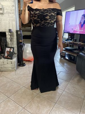 Beautiful formal black dress for Sale in Houston, TX
