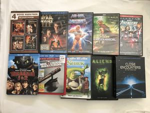 DVD Movies $5 Each Second Pic Movies $2 Each Clean Discs for Sale in Reedley, CA