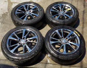 """2014-2019 INFINITI Q50 17"""" INCH CHROME OEM WHEELS RIMS WITH TIRES for Sale in Fort Lauderdale, FL"""