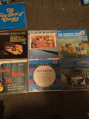 Country vinyl for Sale in Sanger, CA