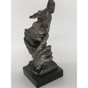 Silence Sculpture With Base Cold Cast Bronze Statue for Sale in Herndon, VA