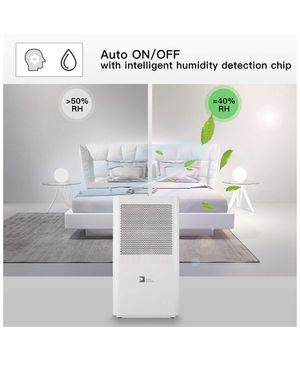 Dehumidifier,Portable Dehumidifier 68oz per day with 3L(6.4 Pints) Water Tank for Room Up To 323 Sq.ft(30m²),mini Dehumidifier for home bathroom Kitc for Sale in Irvine, CA