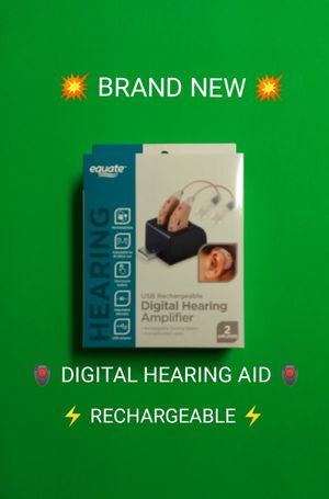 BRAND NEW SET OF DIGITAL AMPLIFIED HD HEARING AID / 💥PRICE IS FIRM💥 for Sale in Phoenix, AZ