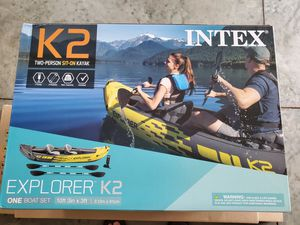 Intex Explorer K2 Kayak - NEW for Sale in Brockton, MA