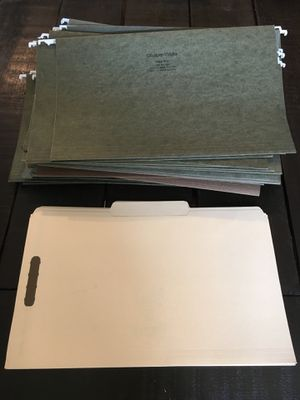 Legal Size Filing Folders for Sale in Manassas, VA