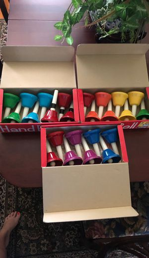 Hand bells for Sale in Kinston, NC