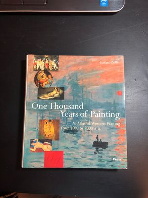 Book One Thousand Years of Painting (Western Painting) ~NWOT for Sale in Arlington, TN