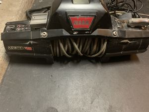 Zeon 12 Warn 12k winch with controller for Sale in Chandler, AZ