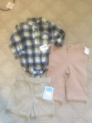 Baby boy clothes with tags size 6-9M for Sale in Indio, CA