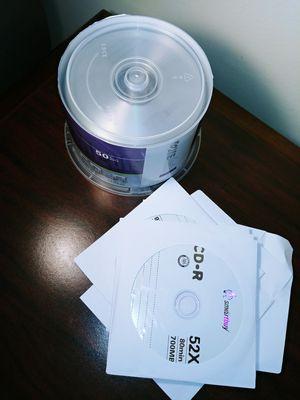 CD-RW Blank New 55 pack for Sale in Murfreesboro, TN