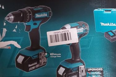 18-Volt LXT Lithium-Ion Cordless Combo Kit /Hammer Drill/Impact Driver for Sale in Berkeley,  CA
