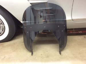 "Indian motorcycle 12"" quick release windshield- tinted for Sale in Huntington Beach, CA"