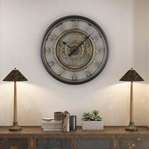 """20"""" Wall Moving Gear Clock Modern Home Decor Art living room decoration for Sale in Toledo, OH"""