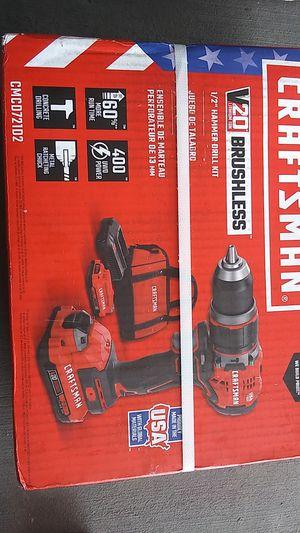 "Unopened craftsman 1/2"" hammer drill kit for Sale in Henderson, NV"