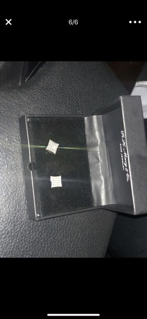 Diamond earrings *Brand New* with original tags and box for Sale in Atlanta, GA