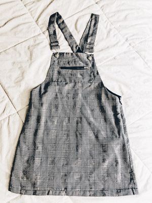 Black & white overall style dress for Sale in Los Angeles, CA