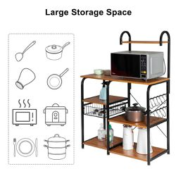 Brand New Steel Standard Baker's Rack with Microwave Compatibility for Sale in Los Angeles,  CA
