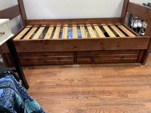 Twin bed with drawers for Sale in Cypress, CA