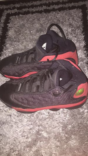 AIR JORDAN 13 - BLACK / GYM RED size:13 kids for Sale in Hilliard, OH